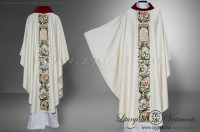 OG7-HM-1 RICHLY EMBROIDERED GOTHIC STYLE CHASUBLE