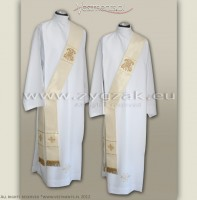 "SD-1 ""ROMA"" fabric  DEACON'S STOLE - MARIAN DESIGN"