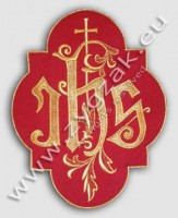 IHS-1 EMBLEM - red