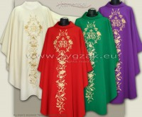 SET OF 4 COLORS - OG-HM-IHS-7 GOTHIC CHASUBLES