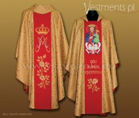 OG-HM-P-5 BRO GOTHIC CHASUBLE