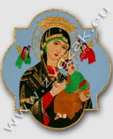 "MAR-4 MARIAN EMBLEM ""OUR LADY OF PERPETUAL HELP"""
