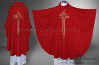 OG-HM-X-10 GOTHIC CHASUBLE - RED