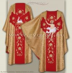 OG-HM-10 RESURRECTION GOTHIC CHASUBLE
