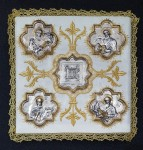 "PM4 WHITE CHALICE PALL ""The Four Evangelists"""