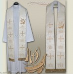 "SG-HM-26 GOTHIC STOLE ""YEAR OF FAITH"""