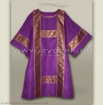 DS-ROZ-GT PURPLE SEMI-GOTHIC DALMATIC
