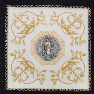 "PM2-01 CHALICE PALL ""Our Lady of Guadalupe"""